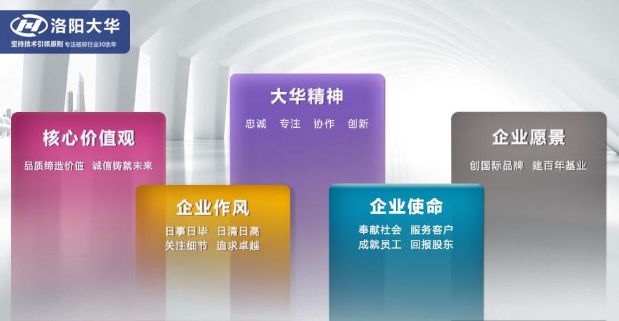 洛阳大华 企业文化